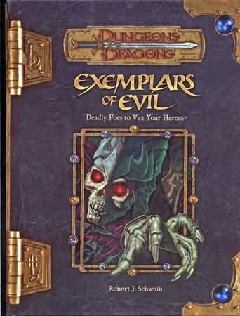 Dungeons and Dragons 3.5 ed: Exemplars of Evil - Used