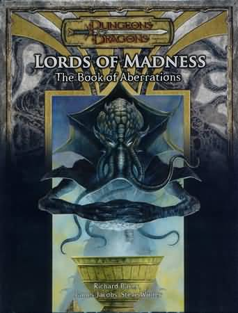 Dungeons and Dragons 3.5 ed: Lords of Madness: The Book of Aberrations - Used
