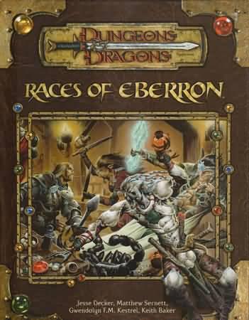 Dungeons and Dragons 3.5 ed: Eberron: Races of Eberron - USED