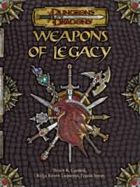 Dungeons and Dragons 3.5 ed: Weapons of Legacy - Used