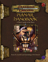 Dungeons and Dragons 3.5 ed: Planar Handbook - Used