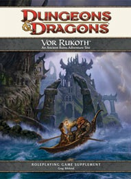 Dungeons and Dragons 4th ed: Vor Rukoth - Used