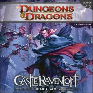 Dungeons and Dragons 4th ed: Castle Ravenloft Board Game