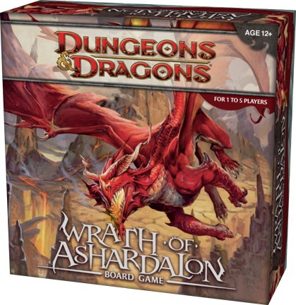Dungeons and Dragons 4th ed: Wrath of Ashardalon Board Game