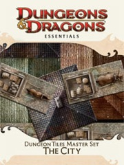 Dungeons and Dragons 4th ed: Essentials: The City Box Set