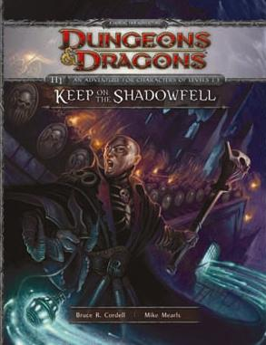 Dungeons and Dragons 4th ed: Keep on the Shadowfell - Used