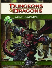 Dungeons and Dragons 4th ed: Monster Manual - Used
