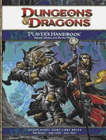 Dungeons and Dragons 4th ed: Players Handbook - Used