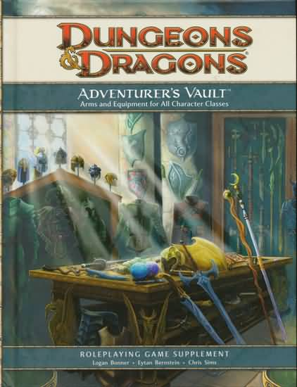 Dungeons and Dragons 4th ed: Adventurers Vault - Used