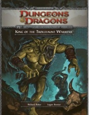Dungeons and Dragons 4th ed: King of The Trollhaunt Warrens - Used