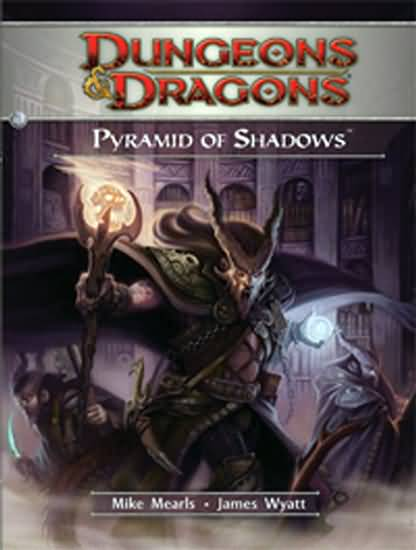 Dungeons and Dragons 4th ed: Pyramid of Shadows - Used