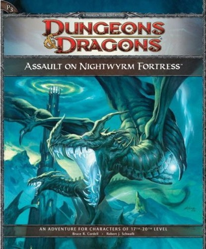 Dungeons and Dragons 4th ed: Assault on Nightwyrm Fortress