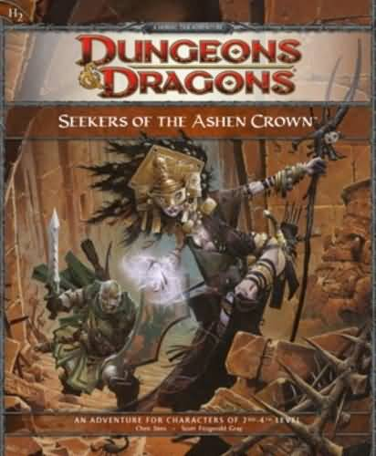 Dungeons and Dragons 4th ed: Seekers of the Ashen Crown - Used