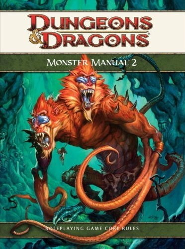 Dungeons and Dragons 4th ed: Monster Manual 2 - Used