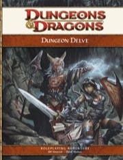 Dungeons and Dragons 4th ed: Dungeon Delve - Used