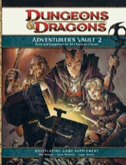 Dungeons and Dragons 4th ed: Adventurers Vault 2 - Used