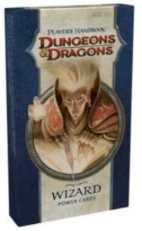 Dungeons and Dragons 4th ed: Power Cards: Players Handbook: Wizard - Used