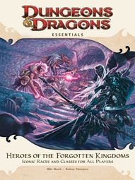 Dungeons and Dragons 4th ed: Essentials: Heroes of The Forgotten Kingdoms - Used