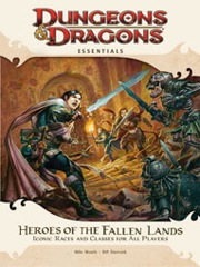 Dungeons and Dragons 4th ed: Essentials: Heroes of The Fallen Lands - Used