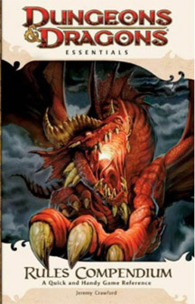 Dungeons and Dragons 4th ed: Essentials: Rules Compendium - Used