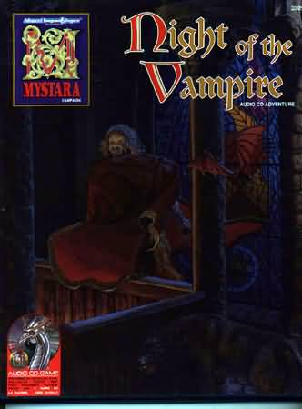 Dungeons and Dragons 2nd ed: Mystara: Night of the Vampire Box SET