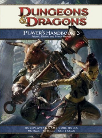 Dungeons and Dragons 4th ed: Players Handbook 3