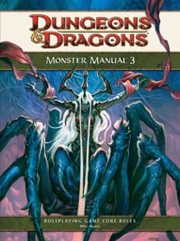 Dungeons and Dragons 4th ed: Monster Manual 3 - Used