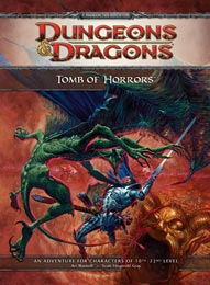 Dungeons and Dragons 4th ed: Tomb of Horrors HC - Used