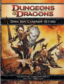 Dungeons and Dragons 4th ed: Dark Sun Campaign Setting - Used