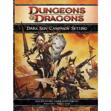 Dungeons and Dragons 4th ed: Dark Sun Campaign Setting