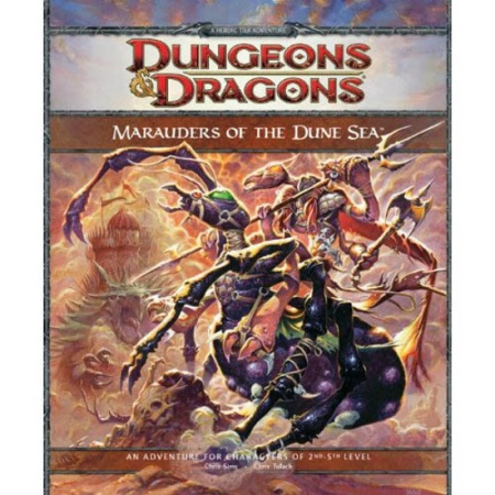 Dungeons and Dragons 4th ed: Marauders of The Dune Sea
