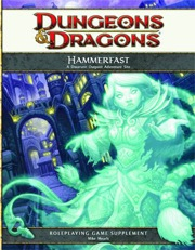 Dungeons and Dragons 4th ed: Hammerfast: A Dwarven Outpost Adventure Site