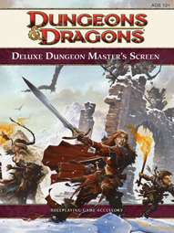 Dungeons and Dragons 4th ed: Deluxe Dungeon Masters Screen