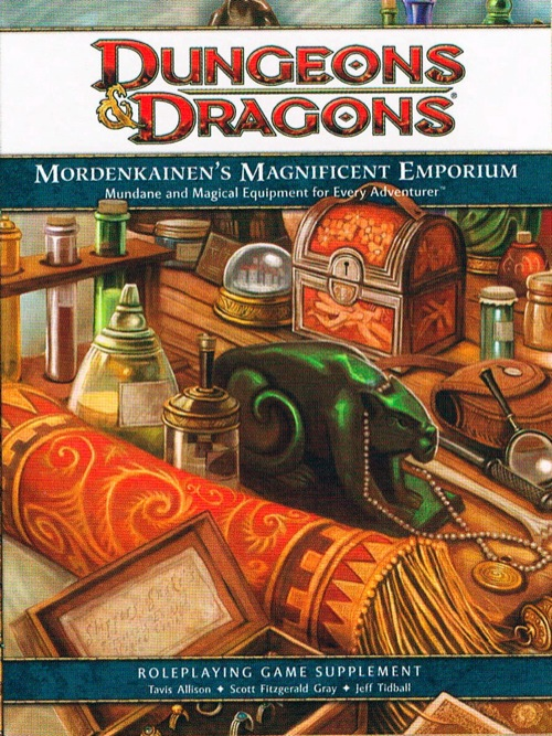 Dungeons and Dragons 4th ed: Mordenkainens Magnificent Emporium HC - Used