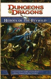 Dungeons and Dragons 4th ed: Heroes of the Feywild HC