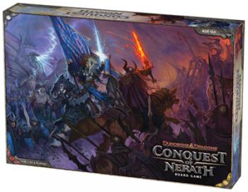 Dungeons and Dragons: Conquest of Nerath Board Game - USED - By Seller No: 11283 Andrew McLearen