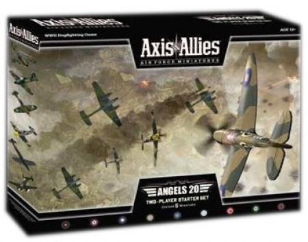 Axis and Allies: Air Force Miniatures: Angels 20: Two-Player Starter Set Box Set