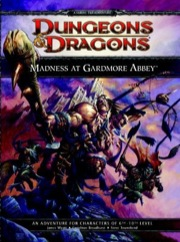 Dungeons and Dragons 4th ed: Madness at Gardmore Abbey Box Set