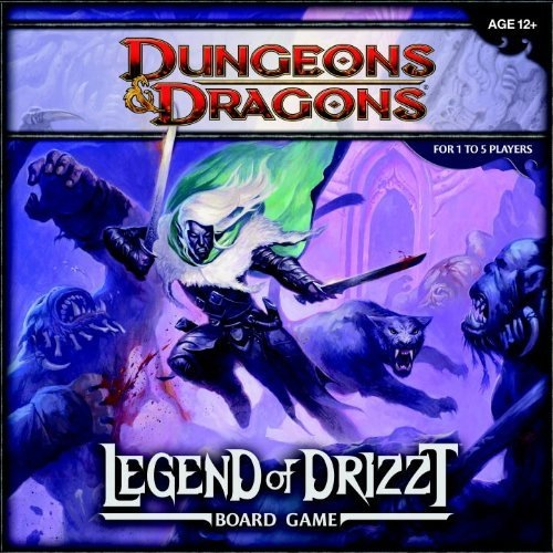 Dungeons and Dragons 4th ed: Legend of Drizzt Board Game