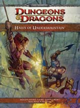 Dungeons and Dragons 4th ed: Halls of Undermountain - Used