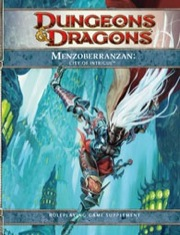 Dungeons and Dragons 4th ed: Menzoberranzan: City of Intrigue HC - Used