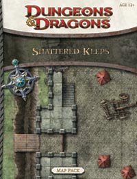 Dungeons and Dragons 4th ed: Shattered Keeps Map Pack