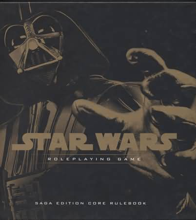 Star Wars Role Playing Game Saga Edition Core Rulebook - Used