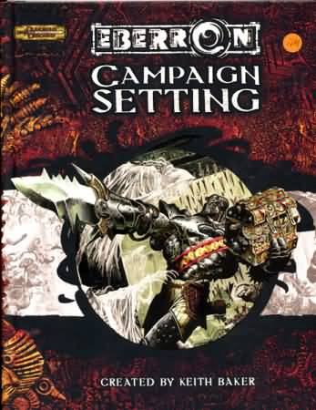 Dungeons and Dragons 3.5 ed: Eberron: Campaign Setting - Used