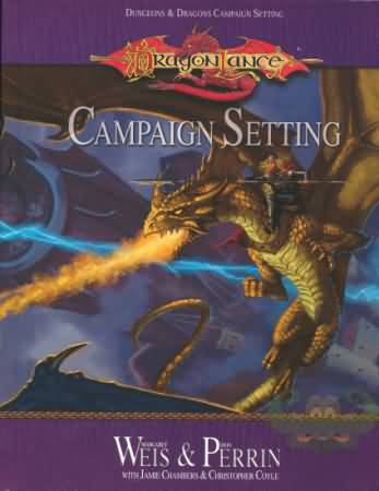 Dungeons and Dragons 3rd ed: DragonLance: Campaign Setting - Used