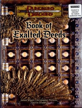 Dungeons and Dragons 3.5 ed: Book of Exalted Deeds - Used