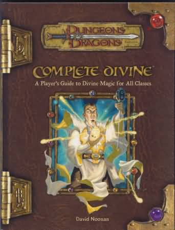 Dungeons and Dragons 3.5 ed: Complete Divine - Used