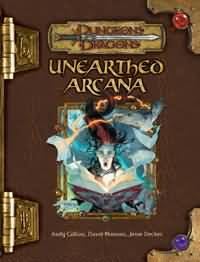Dungeons and Dragons 3.5 ed: Unearthed Arcana - Used