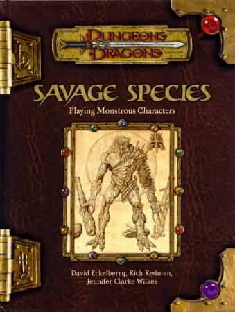 Dungeons and Dragons 3rd ed: Savage Species - Used