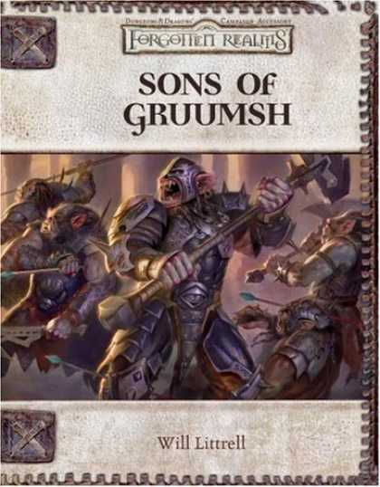 Dungeons and Dragons 3.5 ed: Sons of Gruumsh - USED